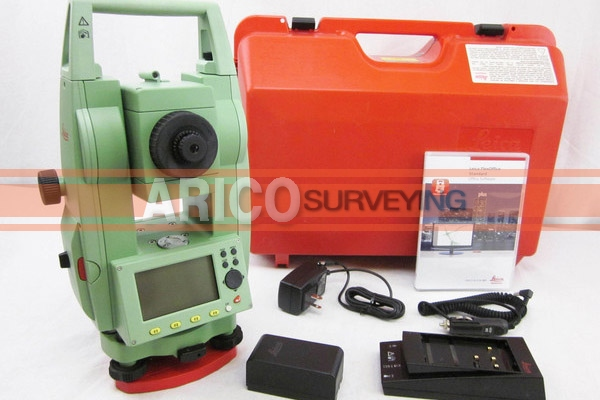 leica tc407 7 total station for surveying used surveying rh aricosurveying com manual estação total leica tc 407 manual leica tcr 407 ultra